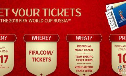 2018 Dünya Kupası Maç Biletleri Satışa Çıkıyor