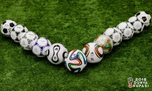 2018 Dünya Kupası Topları