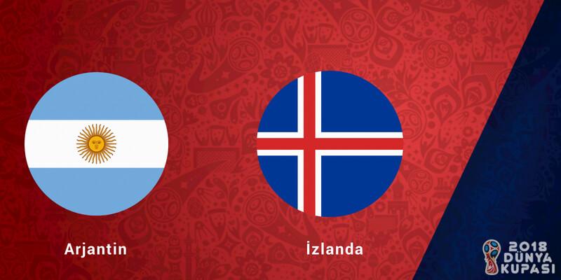 Arjantin İzlanda Dünya Kupası Maçı Bahis Tahmini