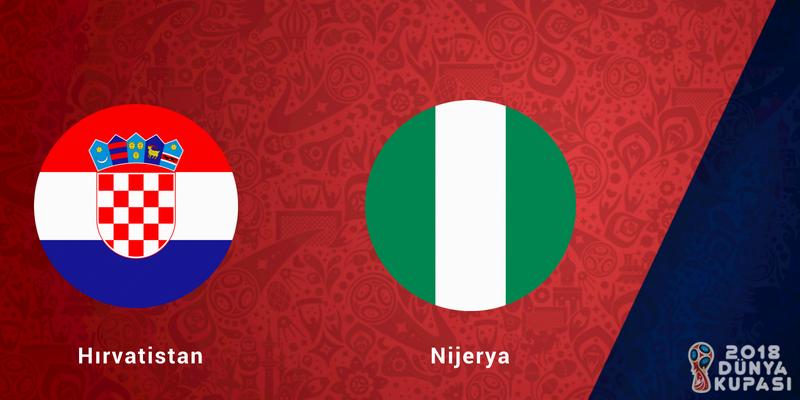 Hırvatistan Nijerya Dünya Kupası Maçı Bahis Tahmini