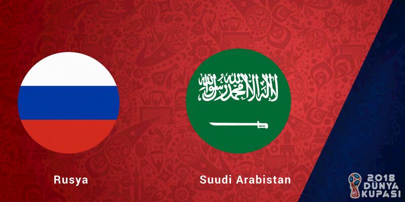 Rusya Suudi Arabistan Dünya Kupası Maçı Bahis Tahmini