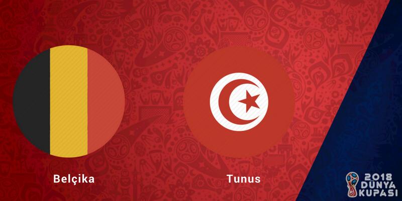 Belçika Tunus Dünya Kupası Maçı Bahis Tahmini