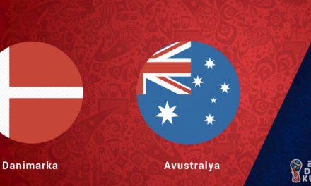 Danimarka Avustralya Dünya Kupası Maçı Bahis Tahmini
