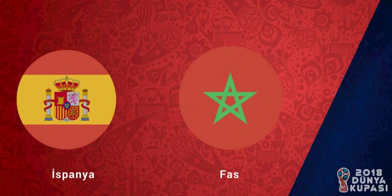 İspanya Fas Dünya Kupası Maçı Bahis Tahmini