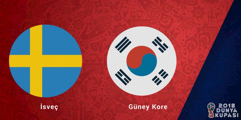 İsveç Güney Kore Dünya Kupası Maçı Bahis Tahmini
