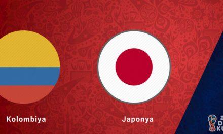Kolombiya Japonya Dünya Kupası Maçı Bahis Tahmini