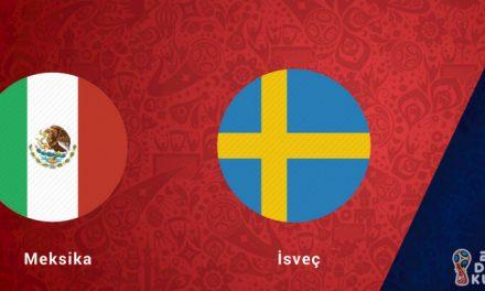 Meksika İsveç Dünya Kupası Maçı Bahis Tahmini