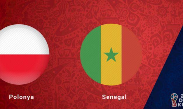 Polonya Senegal Dünya Kupası Maçı Bahis Tahminleri