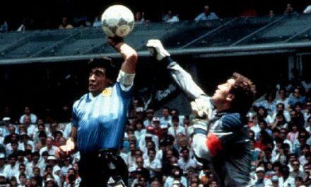 1986 Meksika Dünya Kupası Maradona Tanrının Eli