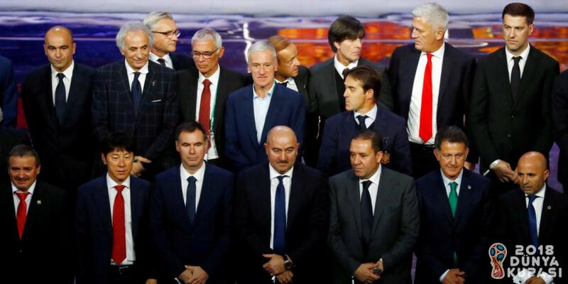 2018 Dünya Kupasına katılacak olan takımların teknik patronluğunu kim yapıyor?