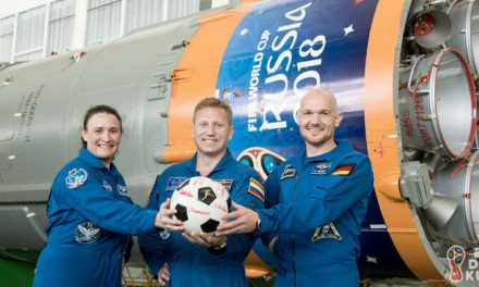 Dünya Kupası Resmi Topu Uzaydan Geri Getirildi